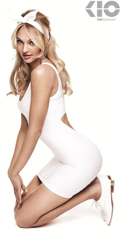KIO Networks anuncia a Candice Swanepoel como su nueva imagen